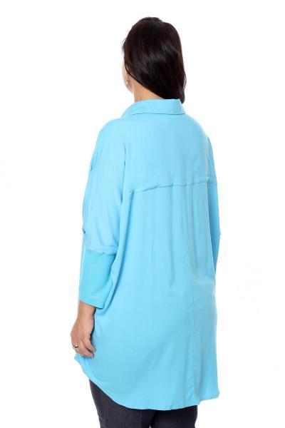 Артикул 16272 - блузка  большого размера - вид сзади
