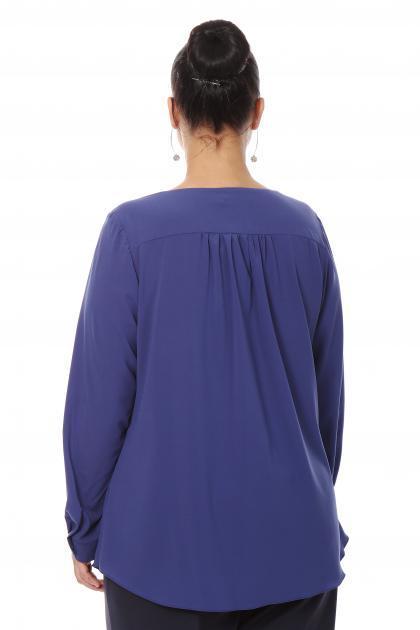 Артикул 16274 - блузка большого размера - вид сзади