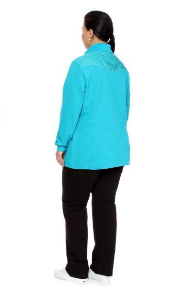 Артикул 5751 - костюм спортивный большого размера - вид сзади