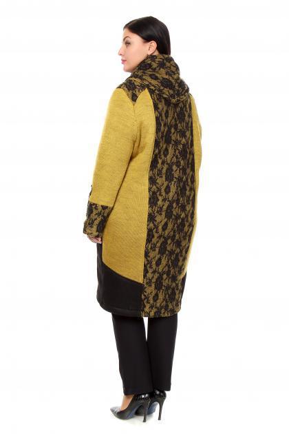 Артикул 206723 - пальто большого размера - вид сзади