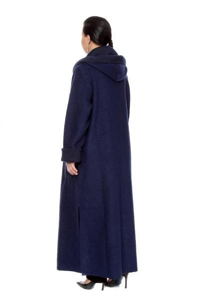 Артикул 203232 - пальто  большого размера - вид сзади