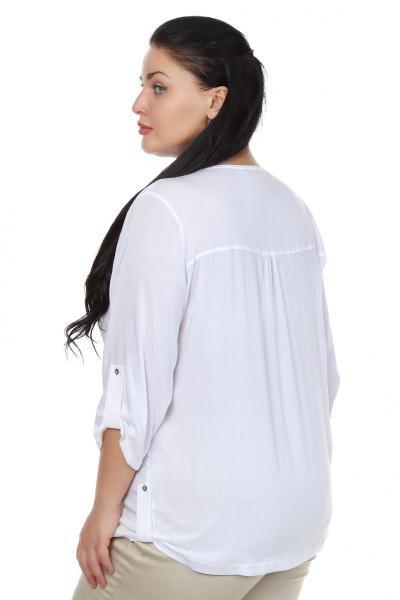 Артикул 106302 - блузка большого размера - вид сзади