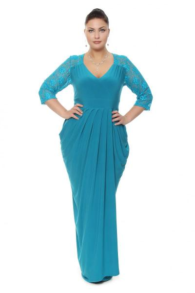 Артикул 16349 - платье большого размера