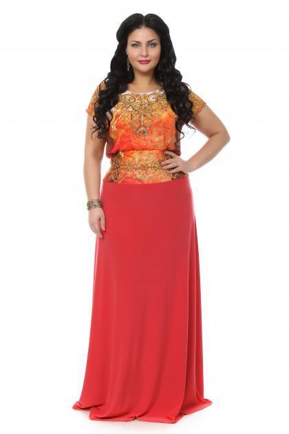 Артикул 108037(109269) - платье  большого размера