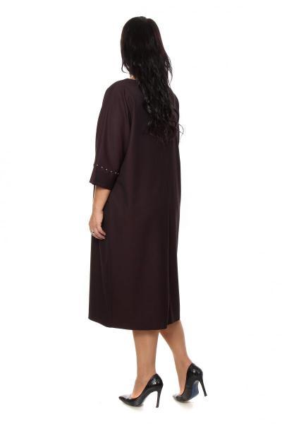 Артикул 205013 - платье большого размера - вид сзади