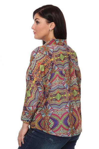 Артикул 16231 - блузка большого размера - вид сзади
