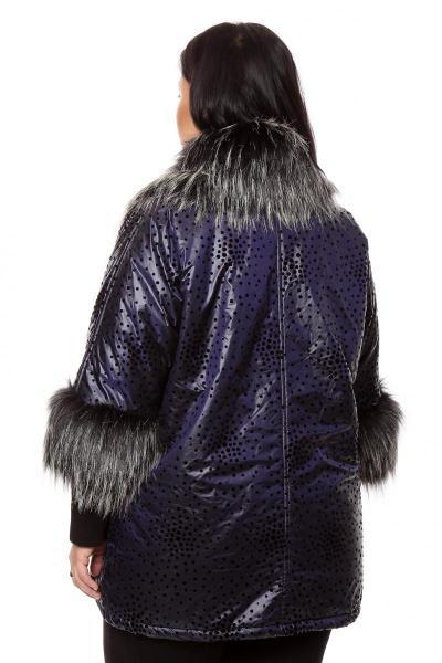 Артикул 202883 - куртка большого размера - вид сзади