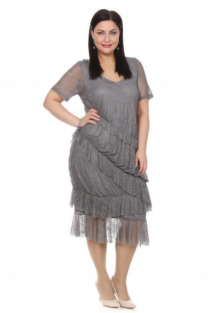 Артикул 12333 - платье большого размера