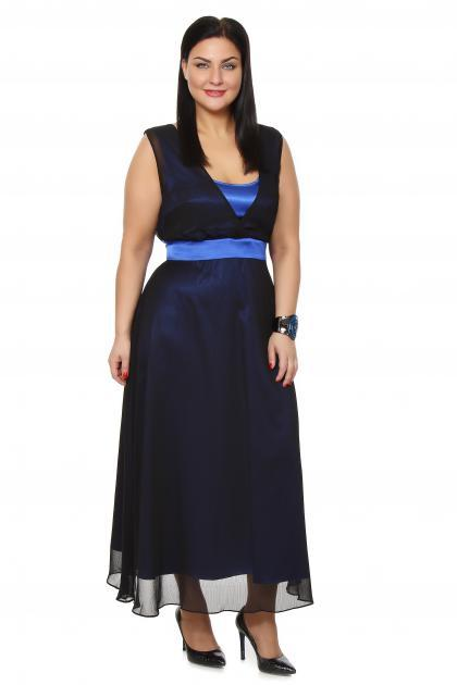 Артикул 12132 - платье большого размера