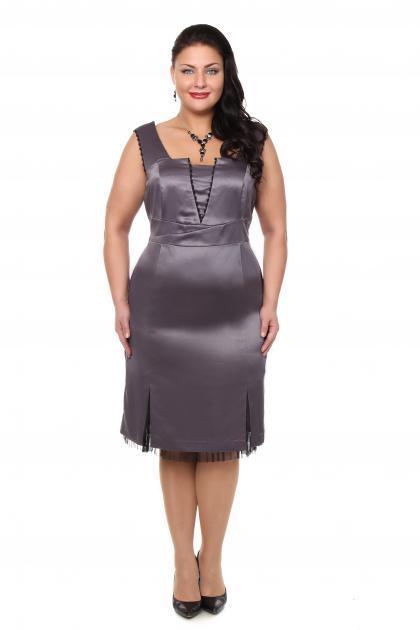 Артикул 12131 - платье большого размера
