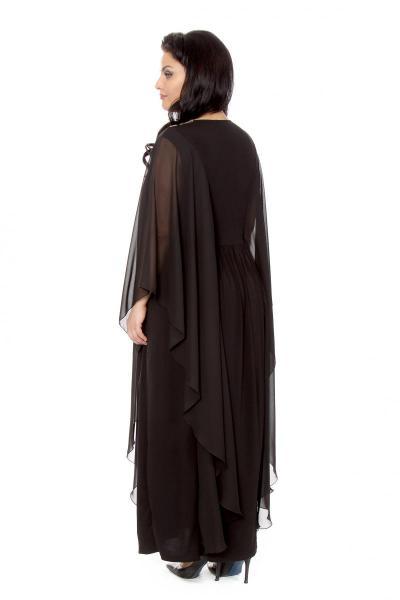 Артикул 16383 - платье  большого размера - вид сзади