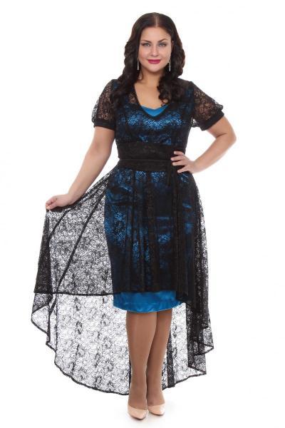 Артикул 15338 - платье  большого размера