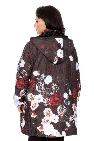 Артикул 216319 - куртка  большого размера - вид сзади