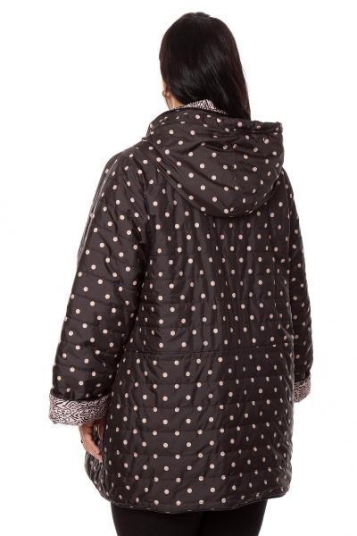 Артикул 261340 - куртка двухсторонняя большого размера - вид сзади