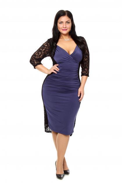 Артикул 15332 - платье  большого размера