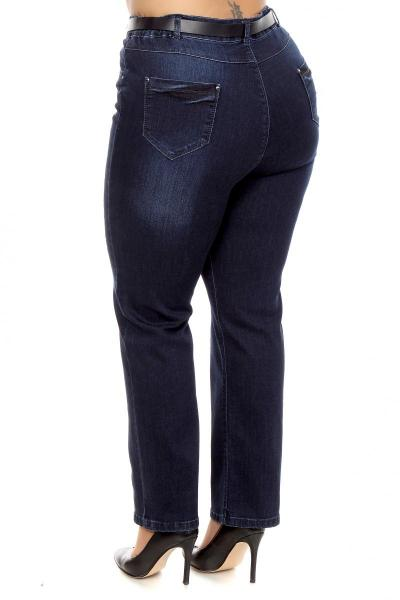 Артикул 201167 - джинсы большого размера - вид сзади