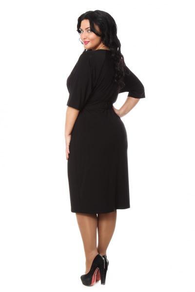 Артикул 009253 - платье  большого размера - вид сзади