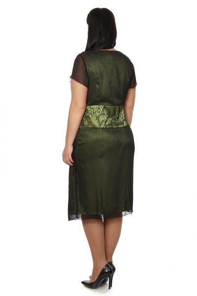 Артикул 11631 - платье большого размера - вид сзади