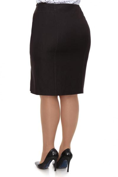 Артикул 11241 - юбка большого размера - вид сзади
