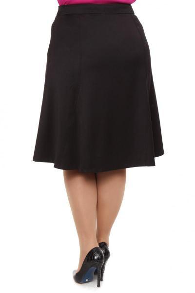 Артикул 11142 - юбка большого размера - вид сзади