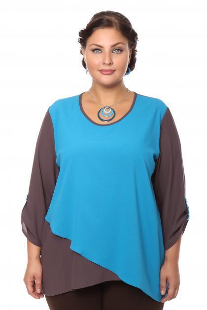 Артикул 16211 - блузка большого размера