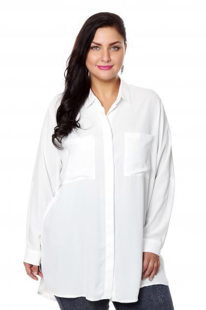 Артикул 204554 - блузка большого размера