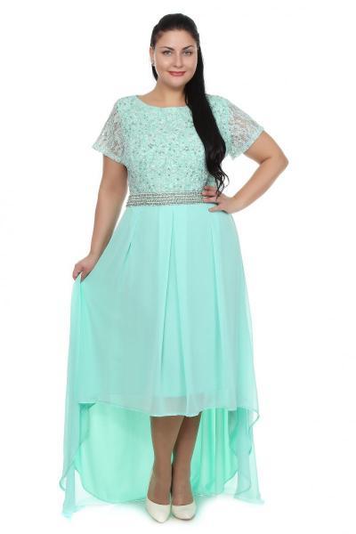 Артикул 109266 - платье  большого размера
