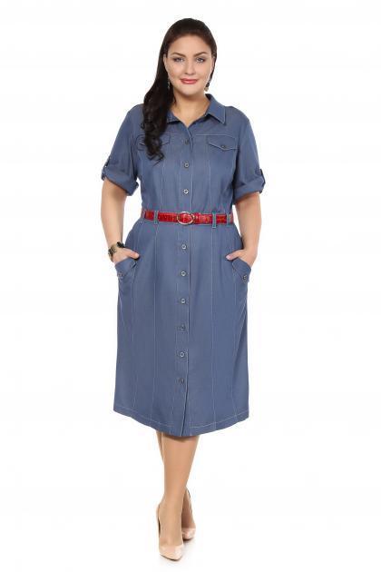 Артикул 16337 - платье большого размера