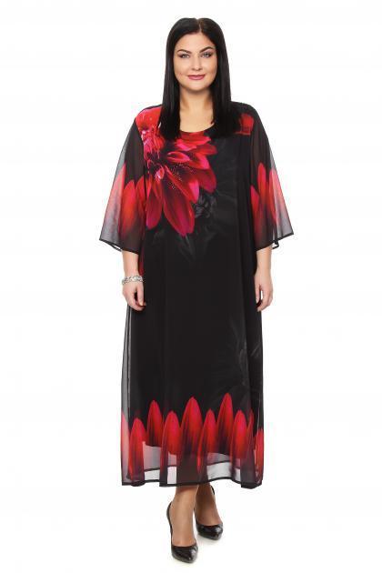 Артикул 265026 - платье  большого размера