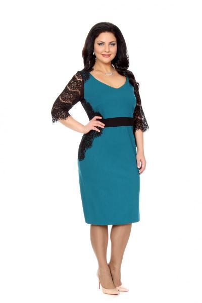 Артикул 16388 - платье большого размера
