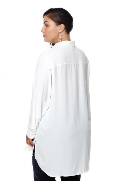 Артикул 204554 - блузка большого размера - вид сзади