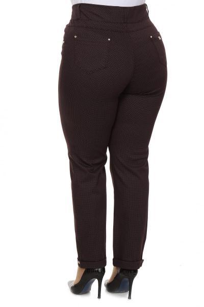 Артикул 202059 - брюки большого размера - вид сзади