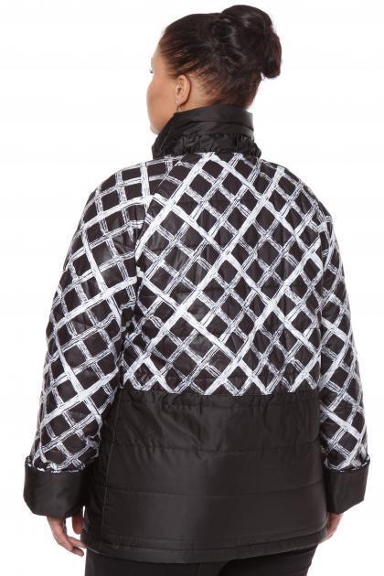 Артикул 160047 - куртка большого размера - вид сзади