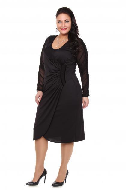 Артикул 12335 - платье большого размера