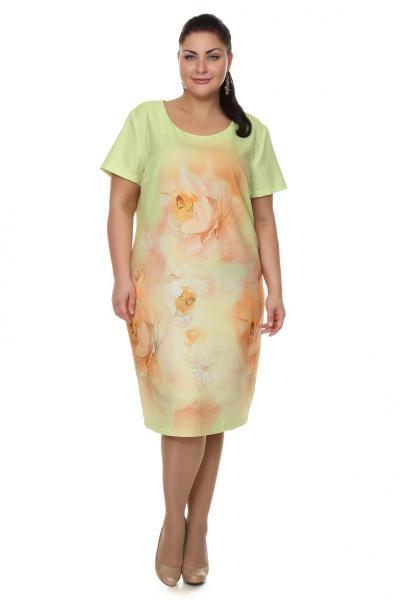 Артикул 102688 - платье большого размера