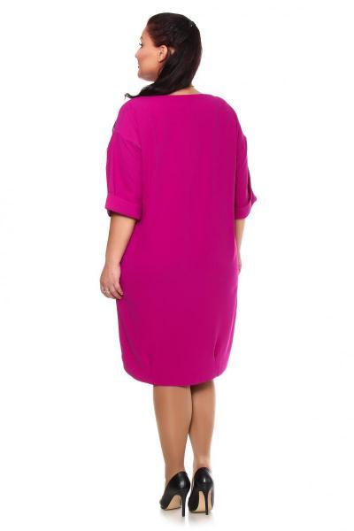 Артикул 103608 - платье большого размера - вид сзади