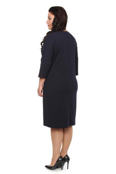 Артикул 104176 - платье большого размера - вид сзади