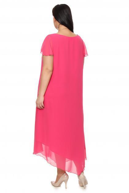 Артикул 16346 - платье большого размера - вид сзади