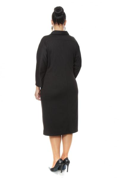 Артикул 16373 - платье большого размера - вид сзади