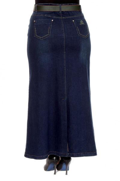 Артикул 205141 - юбка большого размера - вид сзади