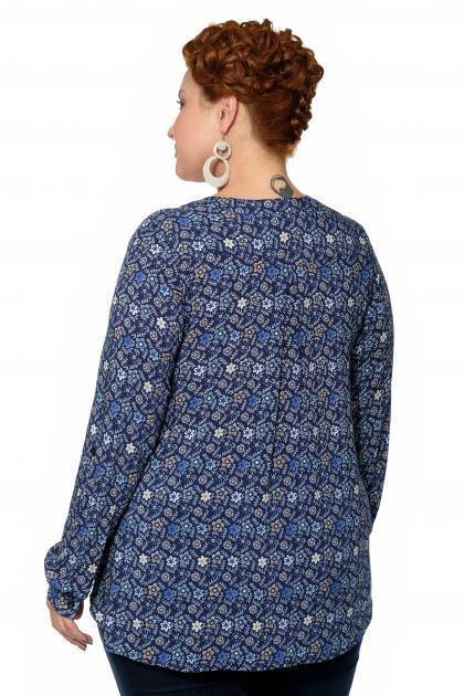 Артикул 15244 - блуза большого размера - вид сзади