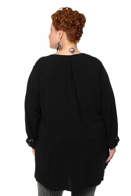 Артикул 17241 - блуза большого размера - вид сзади