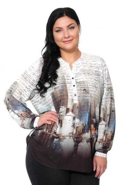 Артикул 309405 - блуза большого размера