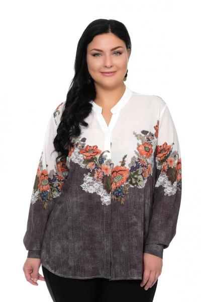 Артикул 309408 - блуза большого размера