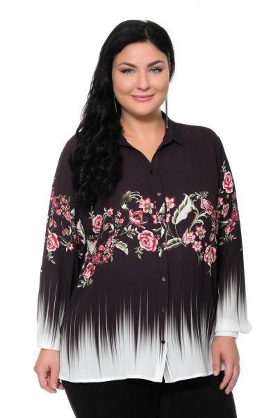 Артикул 309428 - блуза большого размера