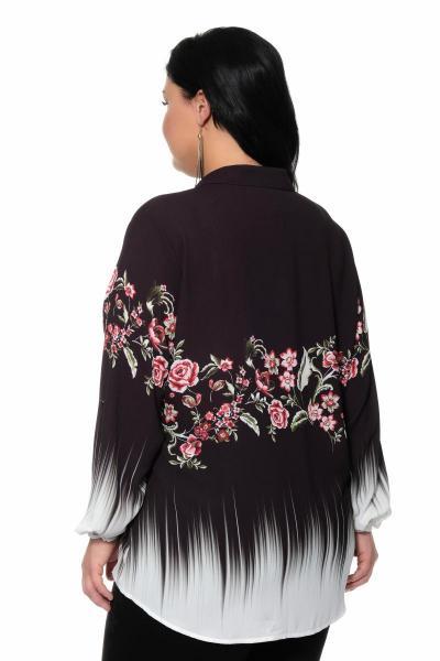 Артикул 309428 - блуза большого размера - вид сзади