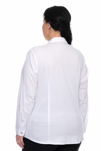 Артикул 309471 - блуза большого размера - вид сзади