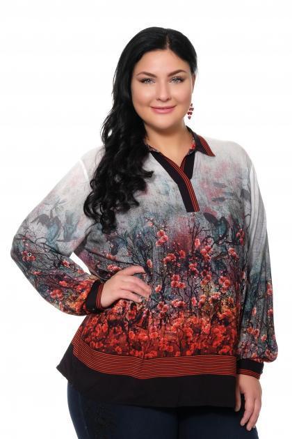 Артикул 309431 - блуза большого размера