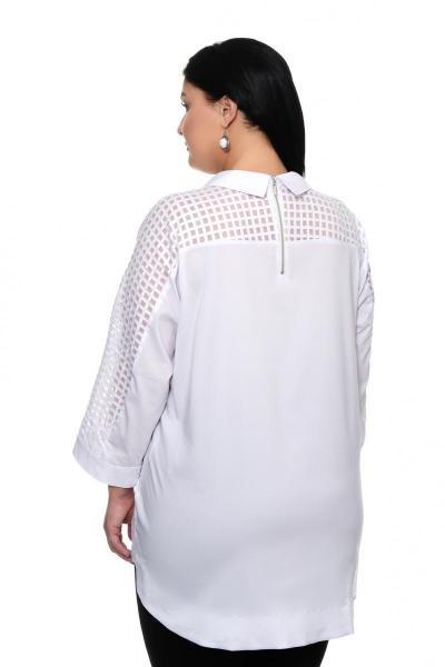 Артикул 17245 - блуза большого размера - вид сзади