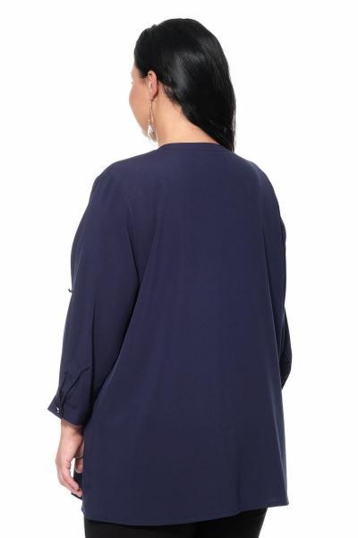 Артикул 17247 - блуза большого размера - вид сзади